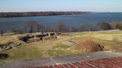Fort Washington Park Stock Footage
