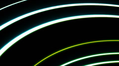 Futuristic wave, digital abstract background, HD 1080p, loop. Stock Footage