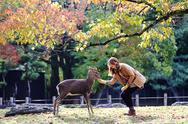 Stock Photo of Nara is a major tourism destination