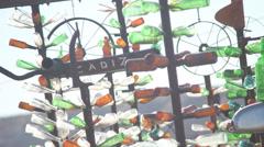 Glass tree Stock Footage