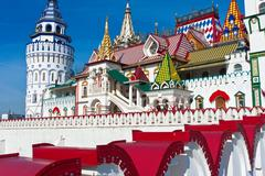 Kremlin in Izmailovo - stock photo