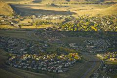 city of golden, jefferson county, colorado - stock photo