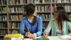 Library Meeting Stock Footage