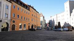 Morning In Regensburg 2 Stock Footage