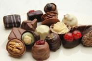 Stock Photo of belgium pralines