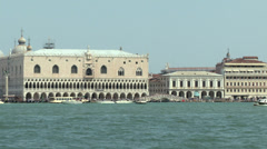 San Marco lagoon 07 Stock Footage