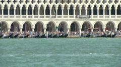 San Marco lagoon 08 Stock Footage