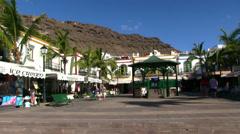 Spain - Gran Canaria - Puerto de Mogan Stock Footage