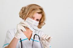 Beautiful doctor Stock Photos