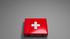 Stock Video Footage of Expensive health care concept animation.