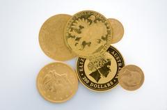 piece of money - stock photo