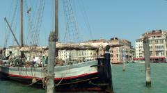 San Marco lagoon 13 Stock Footage