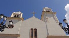 Spanish colonial catholic church Stock Footage