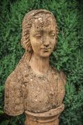 garden bust - stock photo