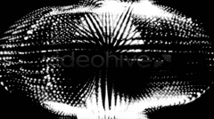 Abstract energy blob particles background Stock Footage