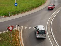 austria, linz, city highway - stock photo