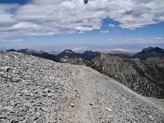 mt charleston trail - near las vegas nevada - stock photo