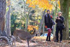 Stock Photo of Nara is a major tourism destination