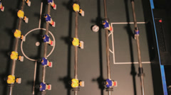 Table Football GOAL Stock Footage
