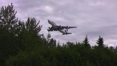 Plane take-off 3 Alaska Stock Footage