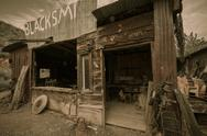 Stock Photo of jerome arizona ghost town mine and saloon