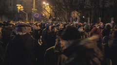 Revolution in Ukraine - The 1th of December. Stock Footage