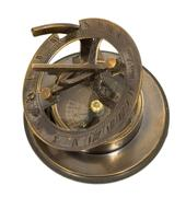 old mariner's compass of the xix century - stock photo