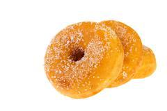 Stock Photo of sugary donuts