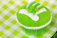 cupcake saint patrick's day - stock photo