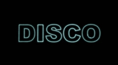 Disco LEDS 02 Stock Footage