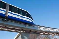 Monorail juna Kuvituskuvat
