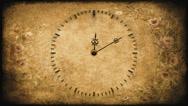 Clock Vintage Stock Footage