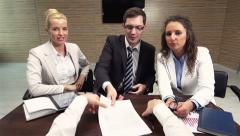 Contract For Client Stock Footage
