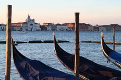 Venice in the winter - stock photo