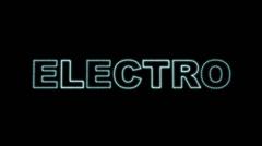Electro LEDS 02 Stock Footage