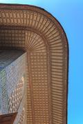 Beautiful oriental eaves in topkapi palace - stock photo