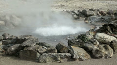 Hot springs, furnas, san miguel island, azores, Portugal Stock Footage