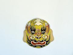 Ceramic chinese mythical figure Stock Photos
