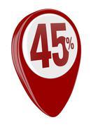 Stock Illustration of percent icon