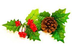 mistletoe decoration - stock photo