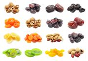 Stock Illustration of Dried fruits