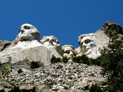 mount rushmore south dakota - stock photo