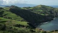 Stock Video Footage of north coast of san miguel island, azores