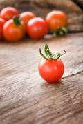 Tomato harvest Stock Photos