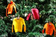 Stock Photo of sweater ornaments