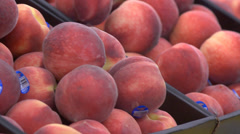 Peaches at the Store Stock Footage