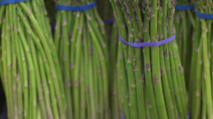 Asparagus at the Store Stock Footage