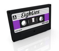 compact cassette - stock illustration