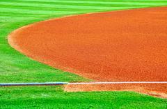 the field of minor league dreams-1 - stock photo