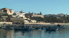 Harbor of sines in portugal Stock Footage